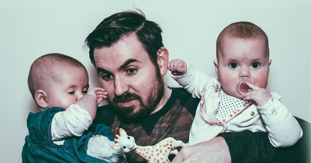 This Dad Posted A Video Of His Twins Playing Peek-A-Boo To Facebook And The Internet Exploded